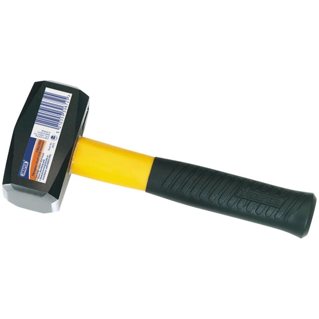 Afbeelding van Draper Tools Moker 1,8 kg zwart staal en glasvezel 30672