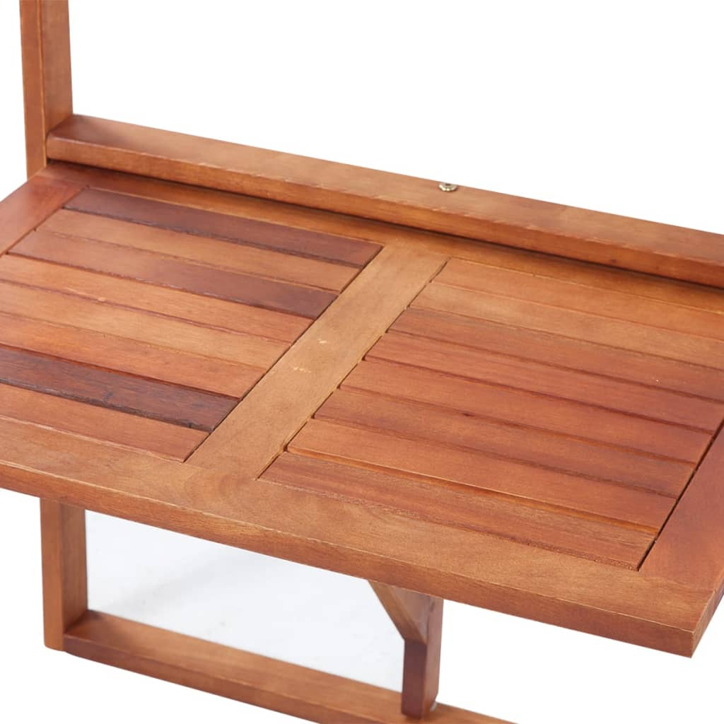 Foldable balcony table wood for Terrace table