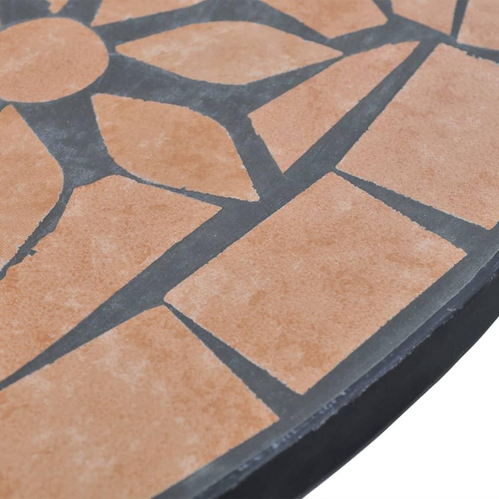 mosaiktisch 60 cm terrakotta g nstig kaufen. Black Bedroom Furniture Sets. Home Design Ideas