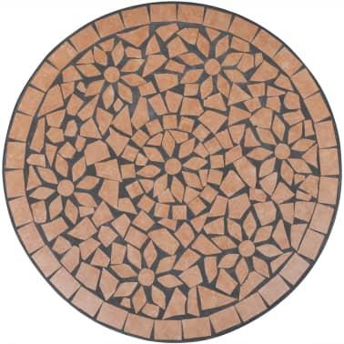 Mosaiktisch 60 cm Terrakotta[3/4]