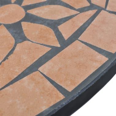 Mosaiktisch 60 cm Terrakotta[4/5]