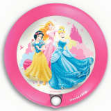 Philips Luz de noche de pared Princesas Disney rosa 0,06 W 717652816