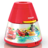 Philips Disney Cars 2-in-1 Nightlight and Projector Red 717693216