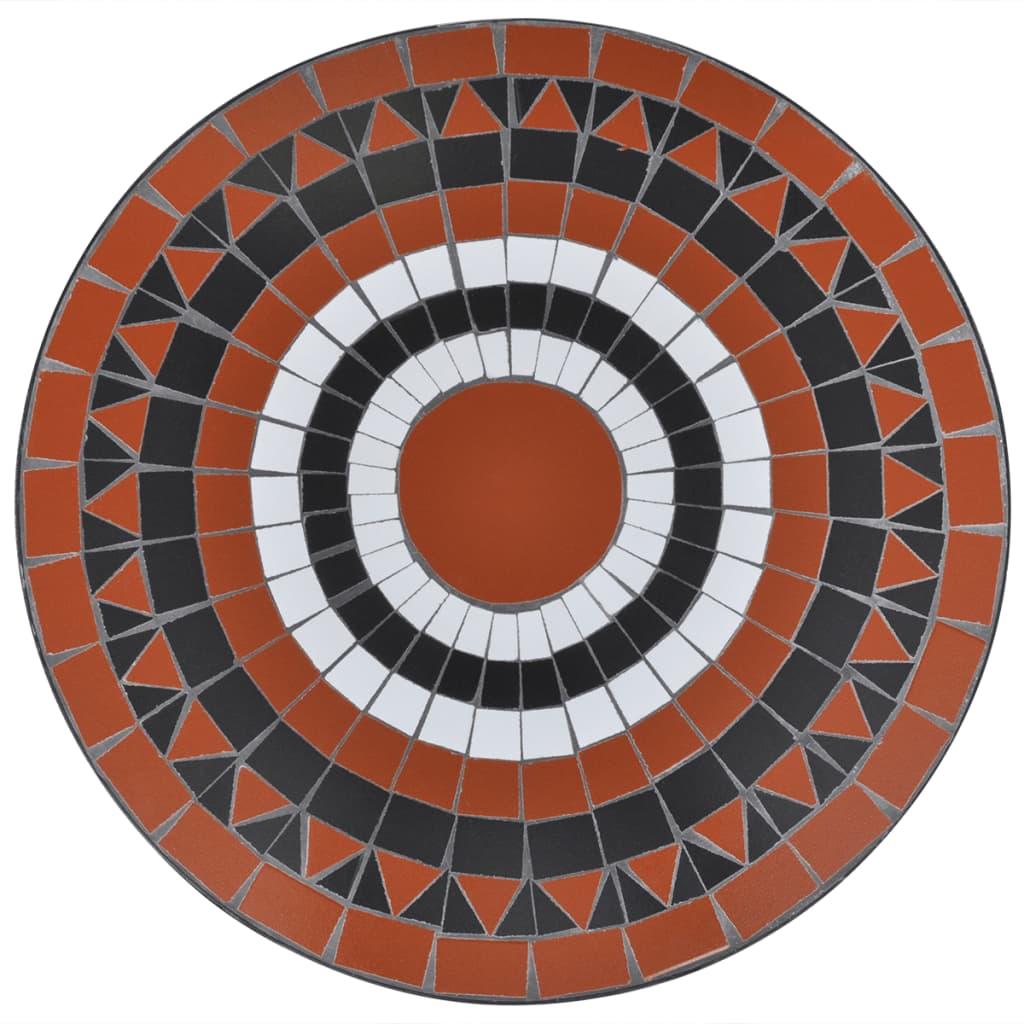mosaiktisch 60 cm terrakotta wei g nstig kaufen. Black Bedroom Furniture Sets. Home Design Ideas