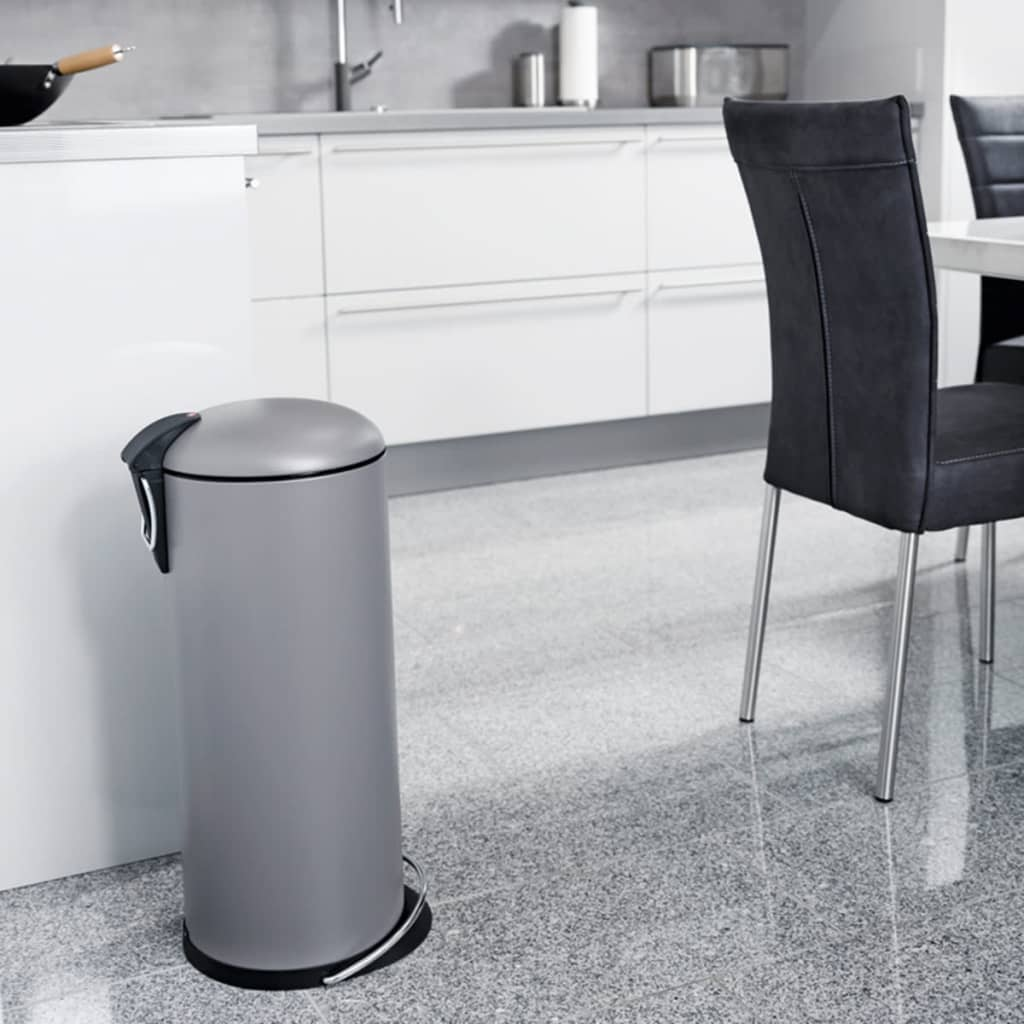 hailo tretm lleimer topdesign gr e l 24 l mattgrau 0523. Black Bedroom Furniture Sets. Home Design Ideas