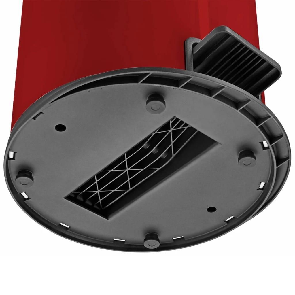 Hailo cubo de basura con pedal pure tama o l 25 l rojo for Cubos de basura con pedal