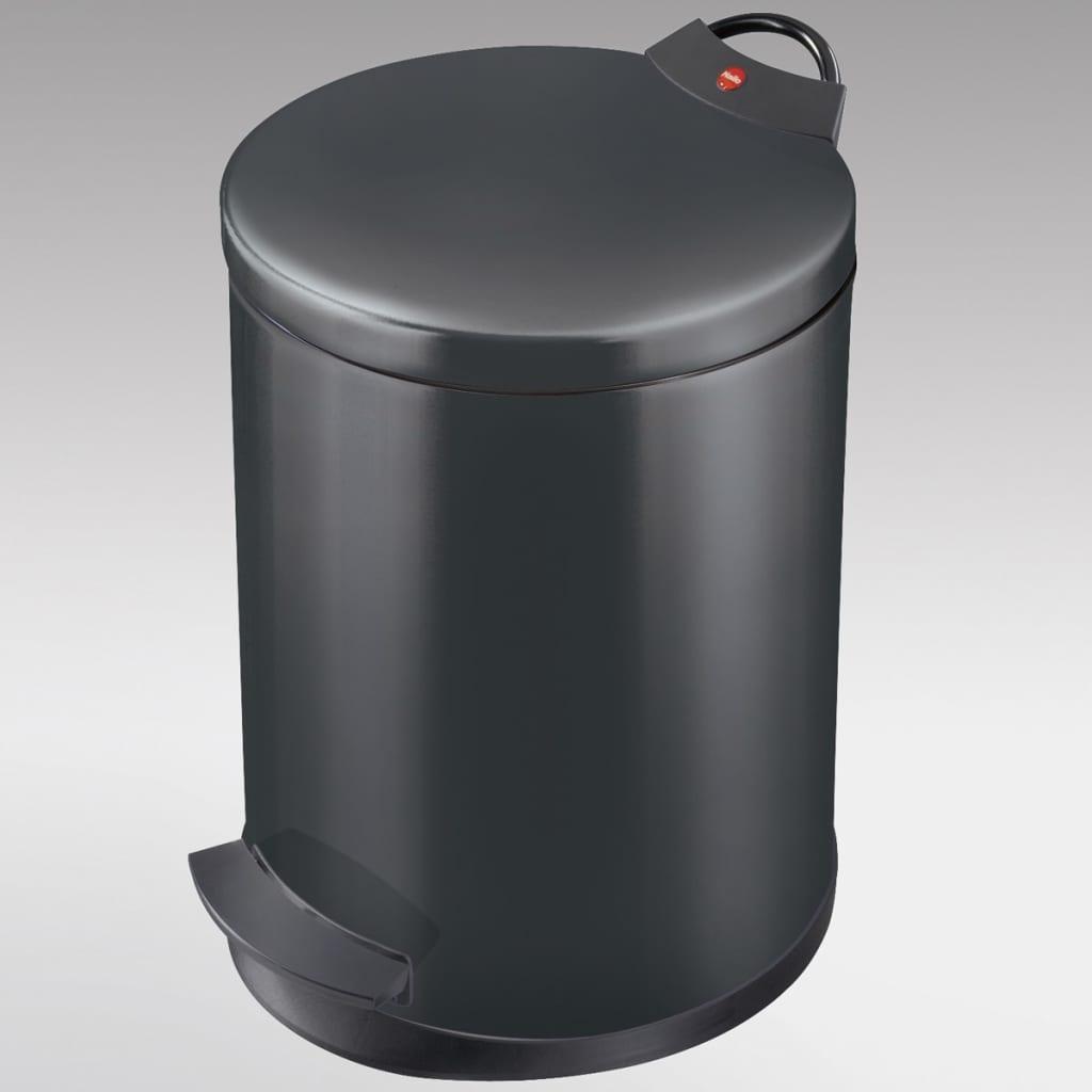 Hailo cubo de basura con pedal t2 tama o m 11 l negro 0513 829 - Cubo basura pedal ...