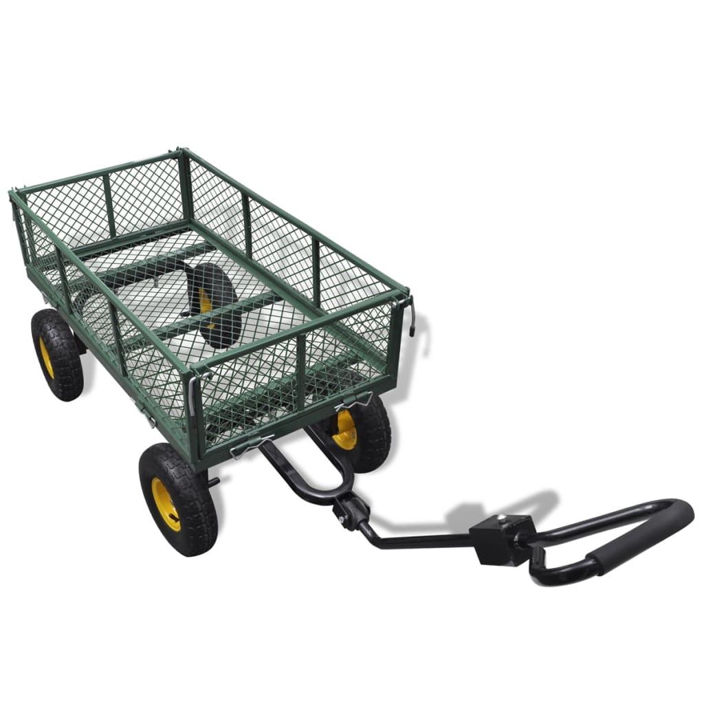 Trädgårdsvagn klarar 350 kg
