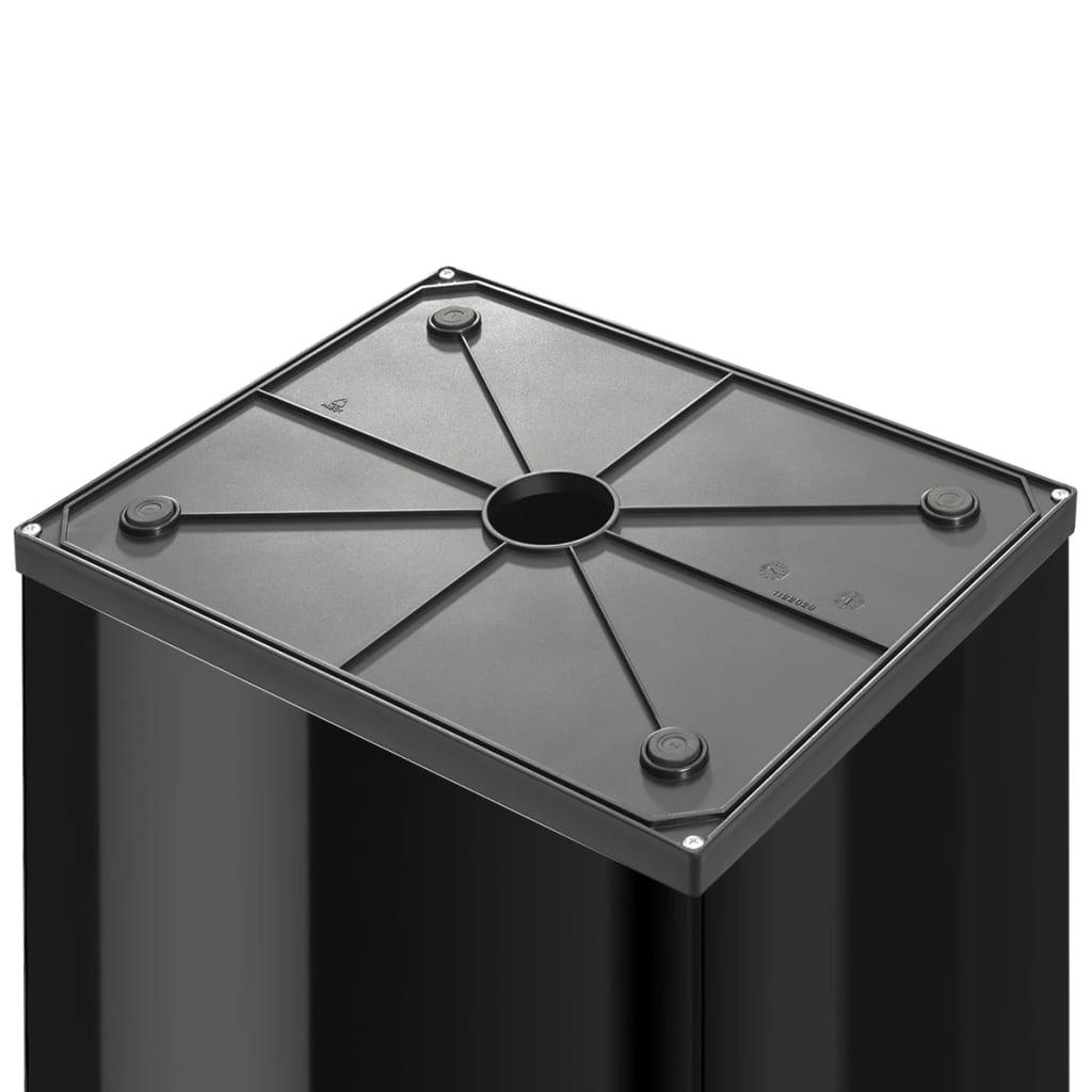 acheter hailo poubelle big box swing taille l 35 l noir 0840 141 pas cher. Black Bedroom Furniture Sets. Home Design Ideas