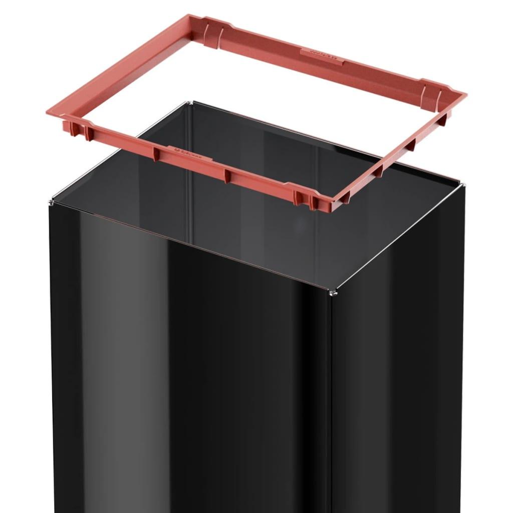 hailo afvalbak big box swing maat l 35 l zwart 0840 141 online kopen. Black Bedroom Furniture Sets. Home Design Ideas