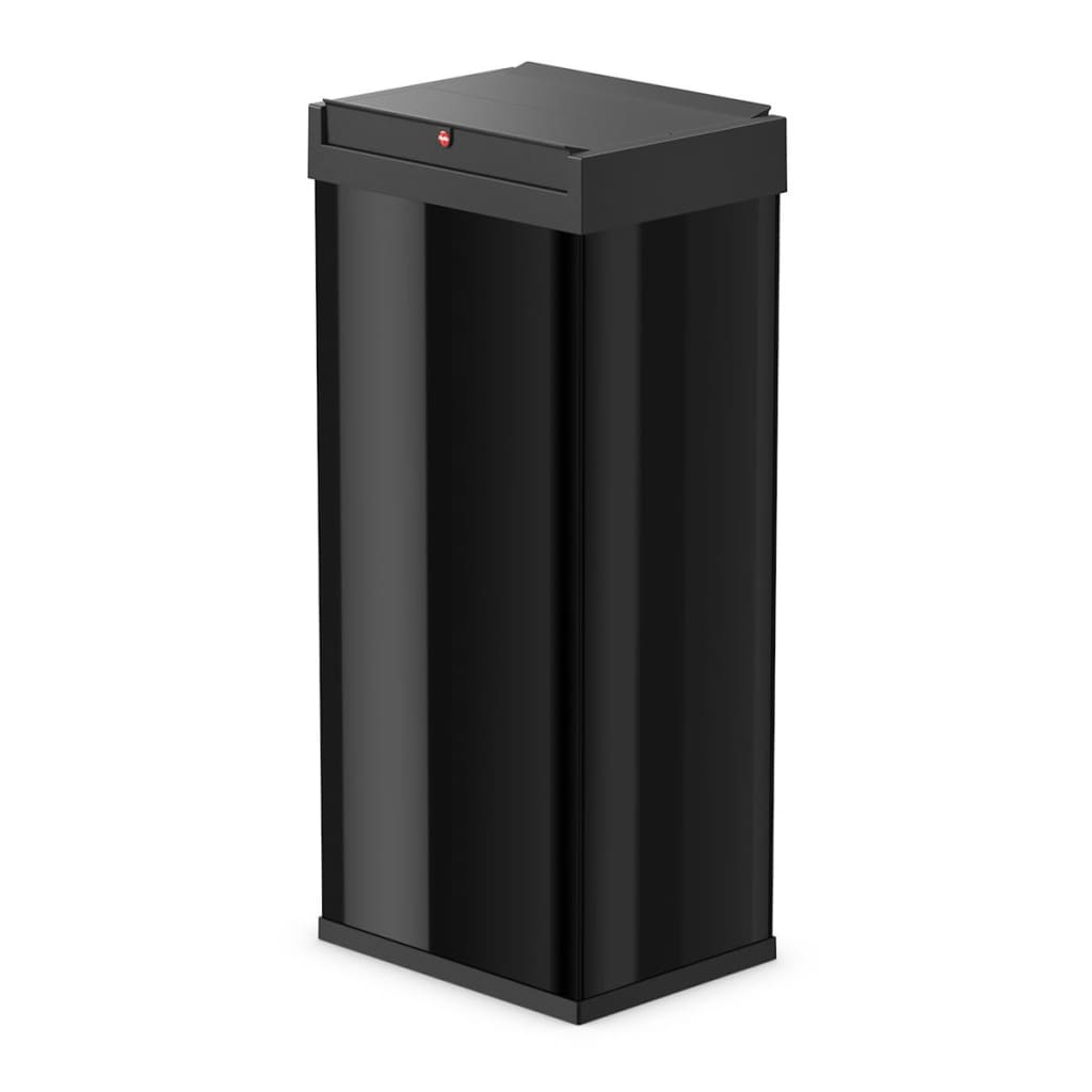 hailo waste bin big box swing size xl 52 l black 0860 241. Black Bedroom Furniture Sets. Home Design Ideas