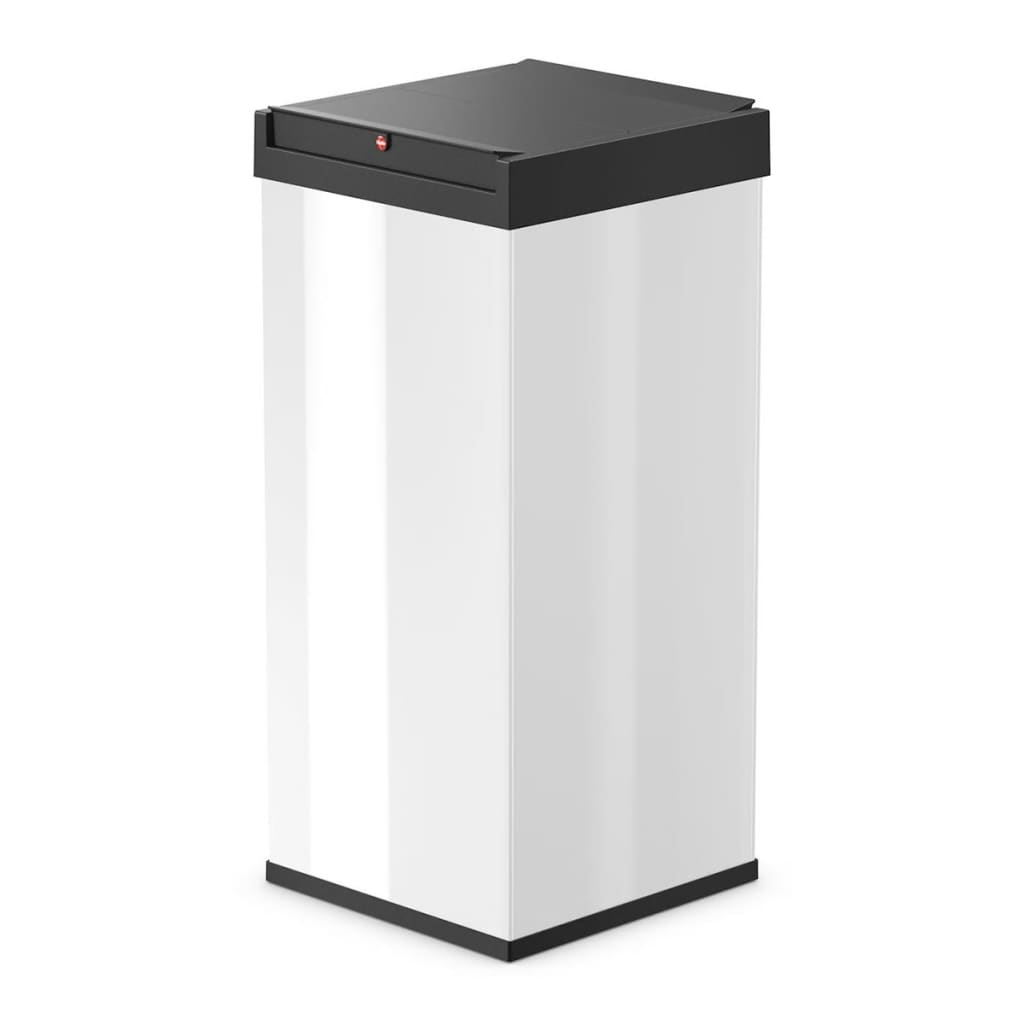 hailo waste bin big box swing size xxl 71 l white 0880 901. Black Bedroom Furniture Sets. Home Design Ideas