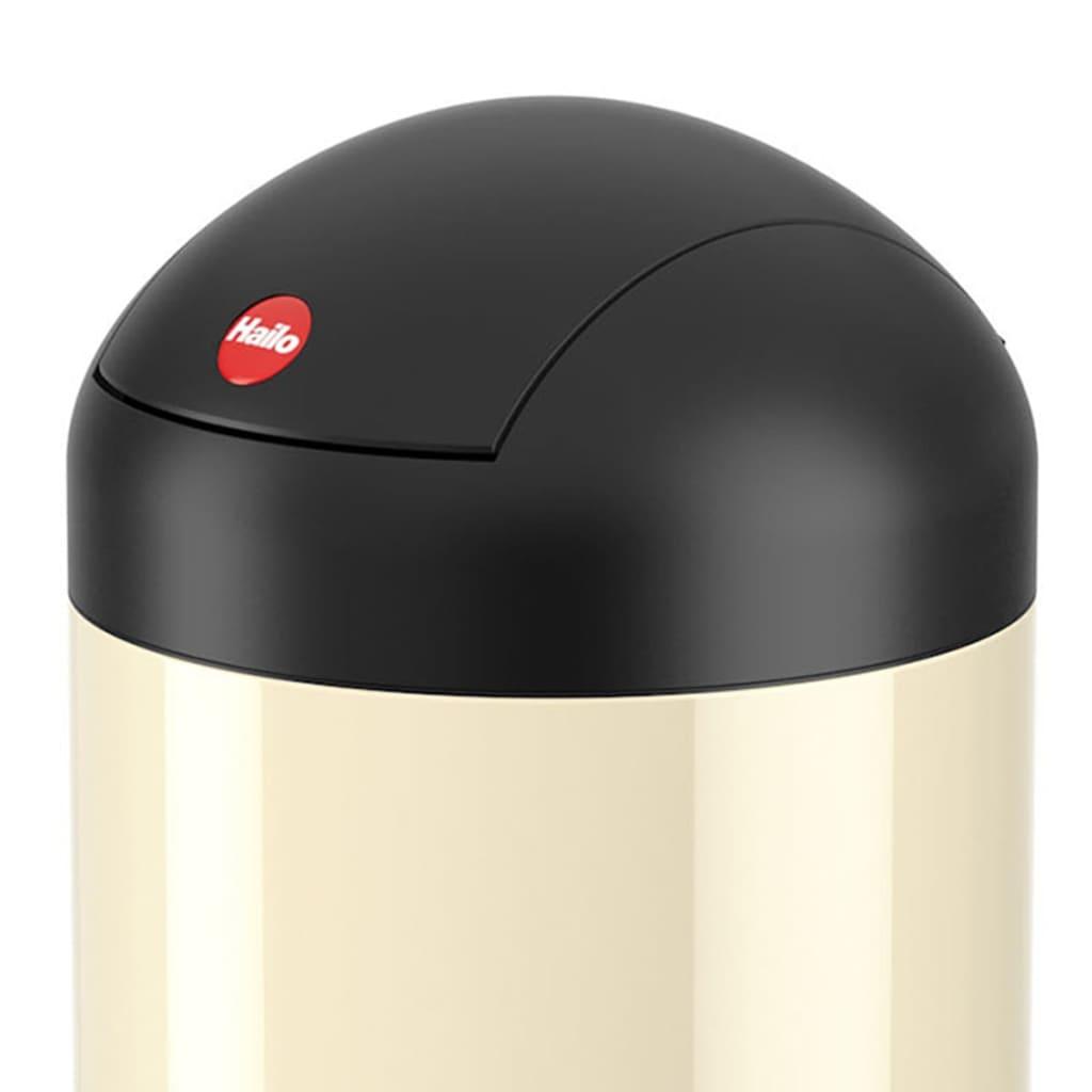 acheter hailo poubelle sienna swing taille s 4 l vanille 0704 209 pas cher. Black Bedroom Furniture Sets. Home Design Ideas