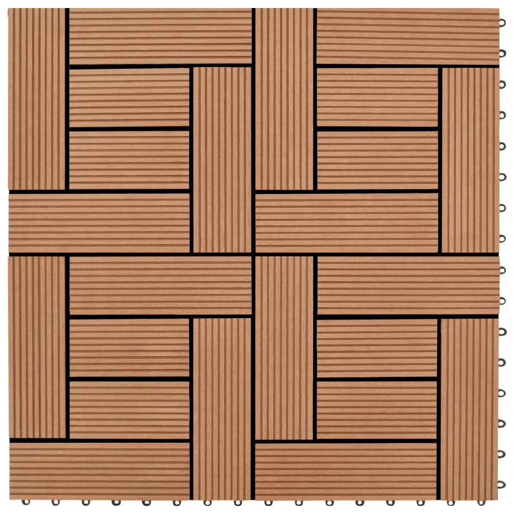 Balkongplattor Bruna 30 x cm 11 st