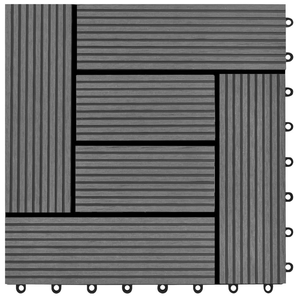 Articoli Per Set 11 Piastrelle In Wpc 30 X 30 Cm 1 Mq