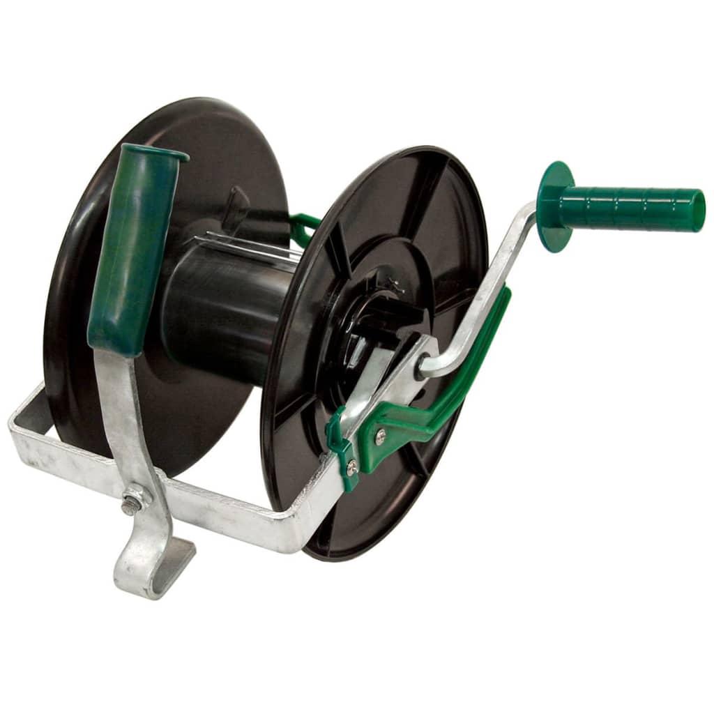 Afbeelding van Kerbl Draadhaspel compact zwart en groen 44296