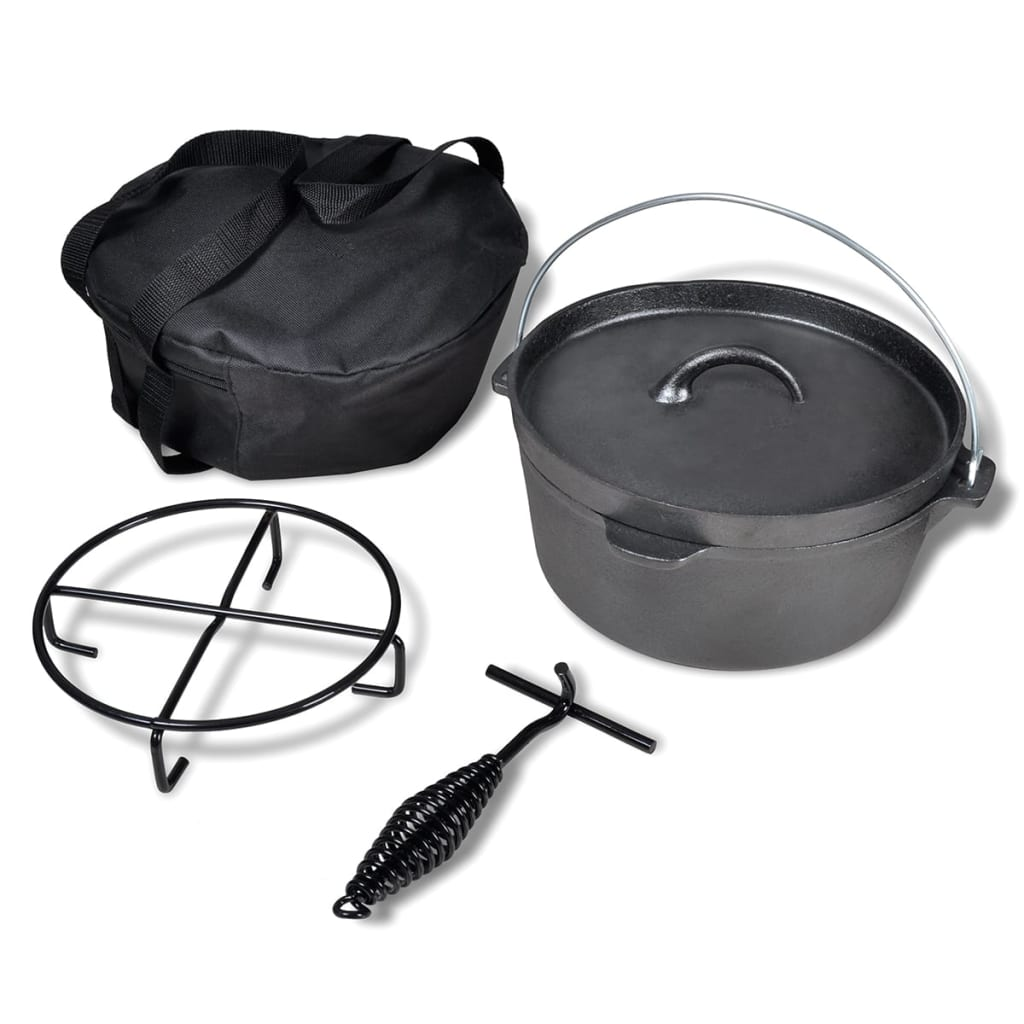 dutch oven 4 2 l including accessories. Black Bedroom Furniture Sets. Home Design Ideas