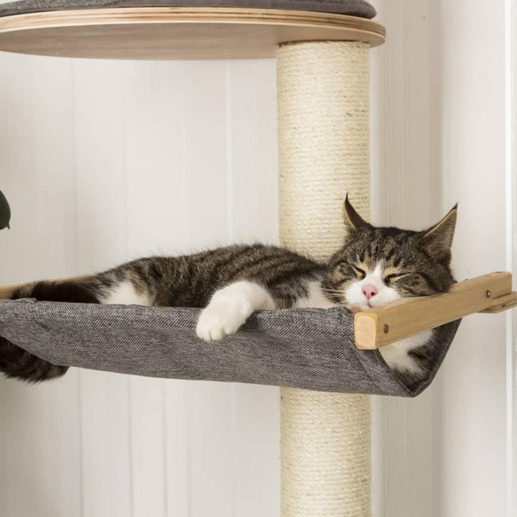kerbl arbre chats mural dolomit xl tofana 185 cm gris. Black Bedroom Furniture Sets. Home Design Ideas