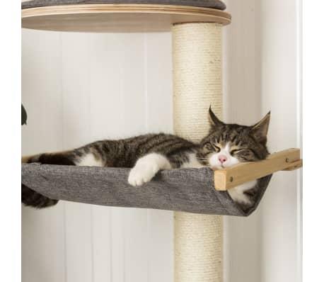 kerbl arbre chats mural dolomit xl tofana 185 cm gris 81541. Black Bedroom Furniture Sets. Home Design Ideas