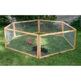 Kerbl Outdoor Pet Enclosure Vario Wood Brown 84399