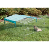 Kerbl Outdoor Pet Enclosure Easy Metal Silver 82845