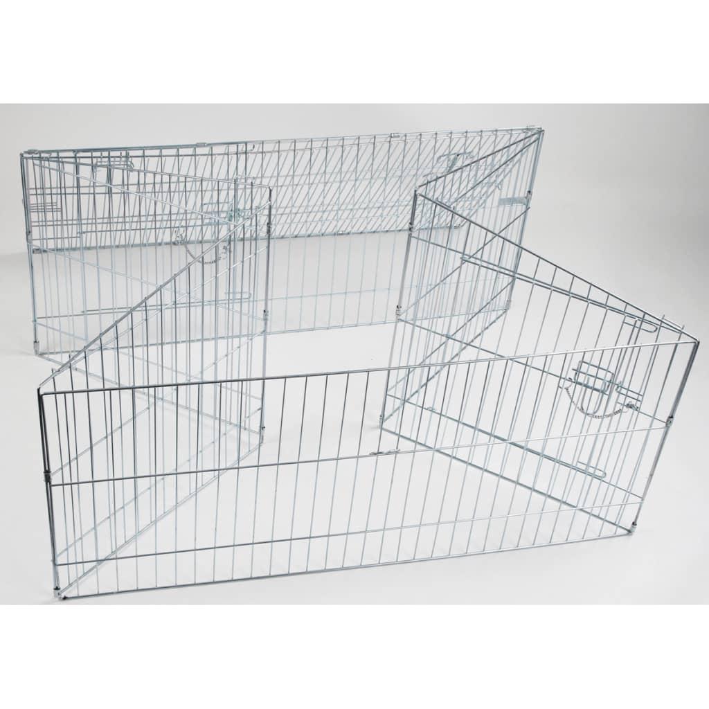 Afbeelding van Kerbl Buitenren voor huisdieren Easy metaal zilverkleurig 82845