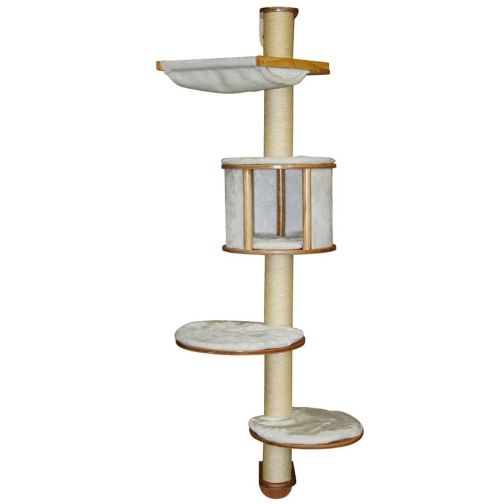 acheter kerbl arbre chats mural dolomit 168 cm blanc 81500 pas cher. Black Bedroom Furniture Sets. Home Design Ideas