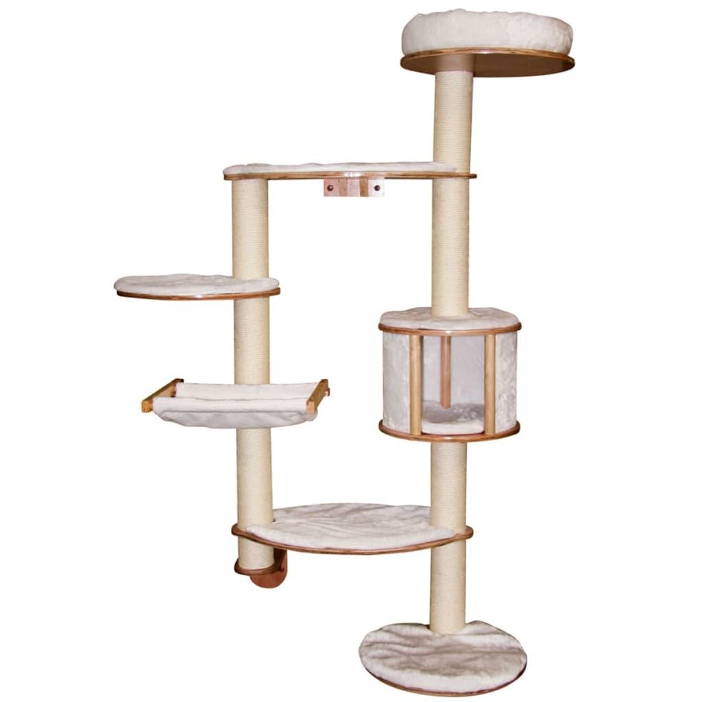 acheter kerbl arbre chats mural dolomit xl185 cm blanc 81501 pas cher. Black Bedroom Furniture Sets. Home Design Ideas