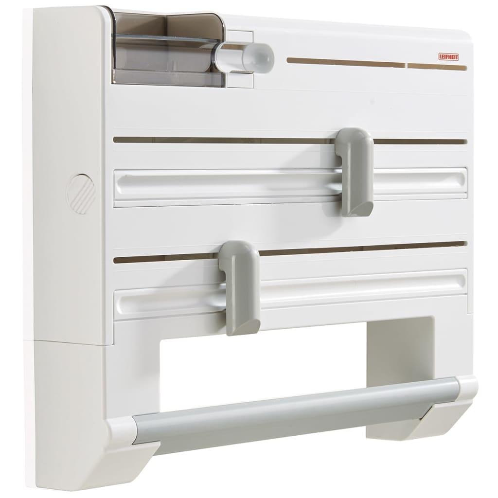 Acheter leifheit porte rouleau mural parat plus blanc for Porte rouleau cuisine
