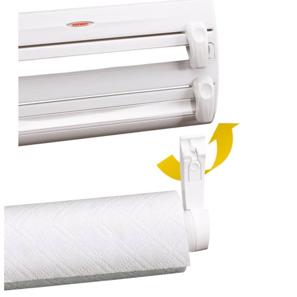 Leifheit portarrollos de cocina de pared parat f2 blanco 25771 - Portarrollos cocina pared ...