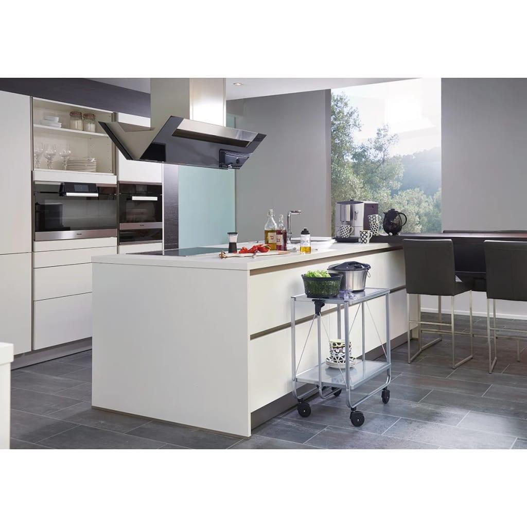 Acheter leifheit chariot de cuisine pliable argent 74291 for Cuisine pliable