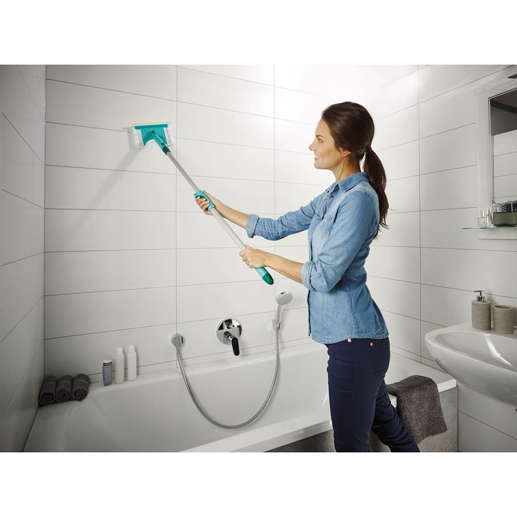 Leifheit limpiador de azulejos y ba os flexi pad con mango - Limpiador de azulejos ...