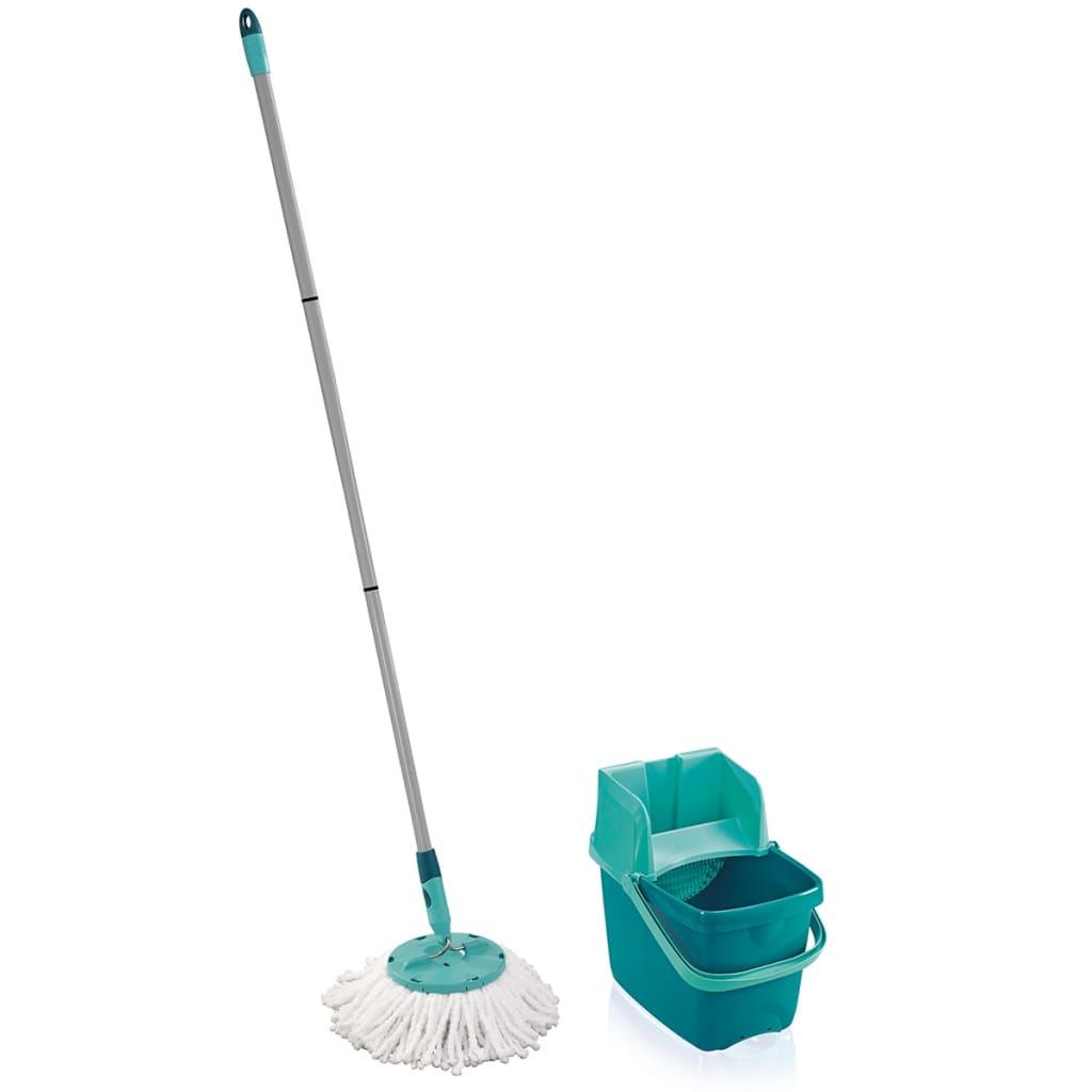 Leifheit Three Piece Mop Set Combi Disc Green 52054