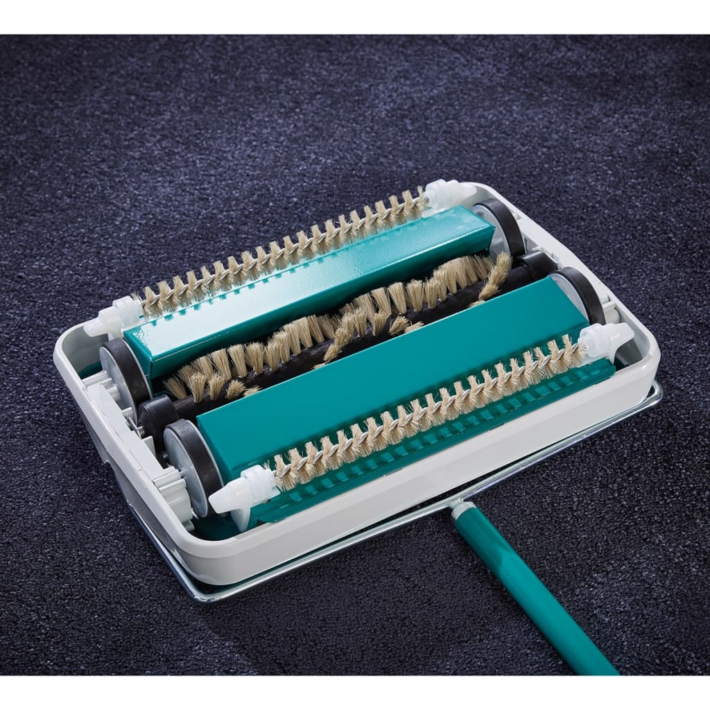 Acheter leifheit balai m canique de tapis regulus for Tapis noir et turquoise