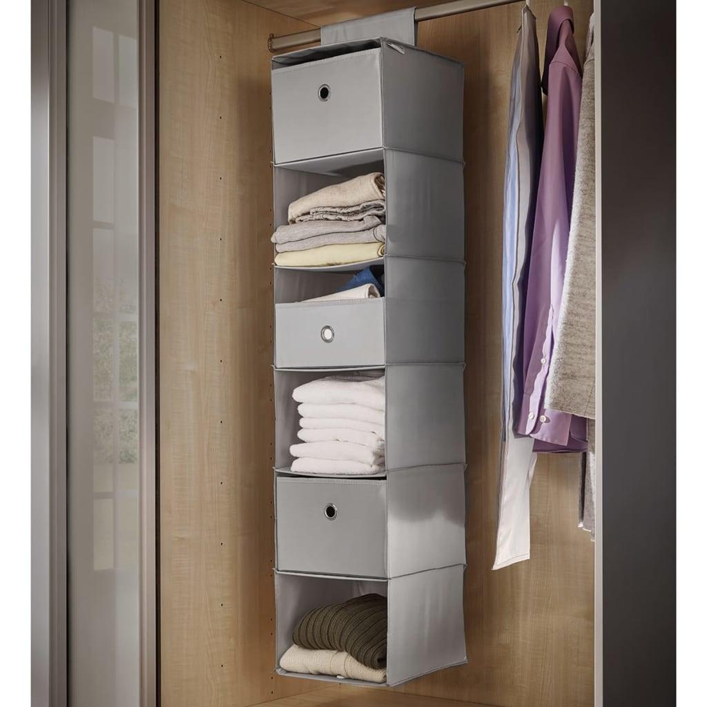 acheter leifheit penderie suspendue gris 30 x 30 x 125 cm. Black Bedroom Furniture Sets. Home Design Ideas