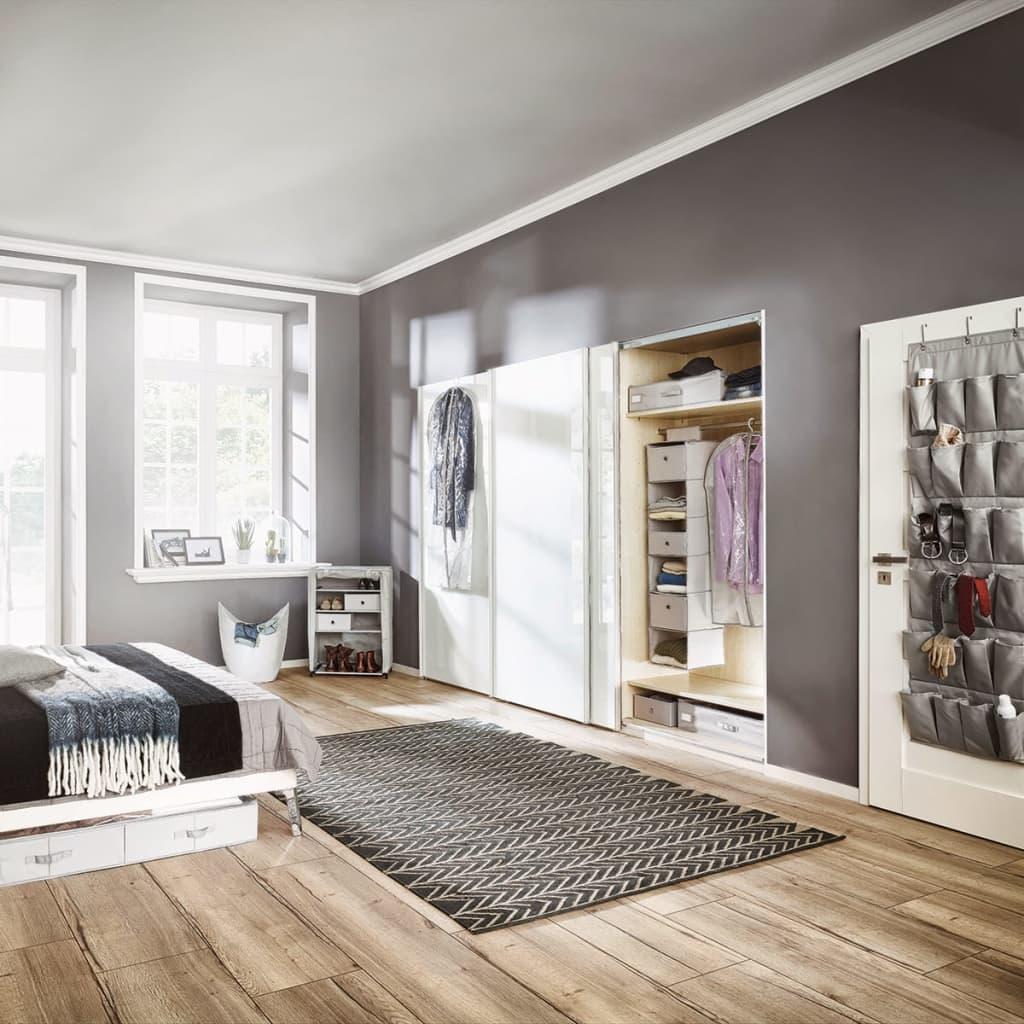 acheter leifheit penderie suspendue gris 30 x 30 x 125 cm 80004 pas cher. Black Bedroom Furniture Sets. Home Design Ideas