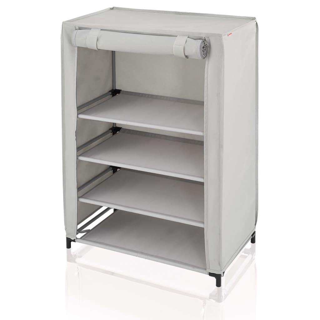 Leifheit shoe cabinet grey 60x35x81 5 cm 80006 - Schuhschrank groay ...