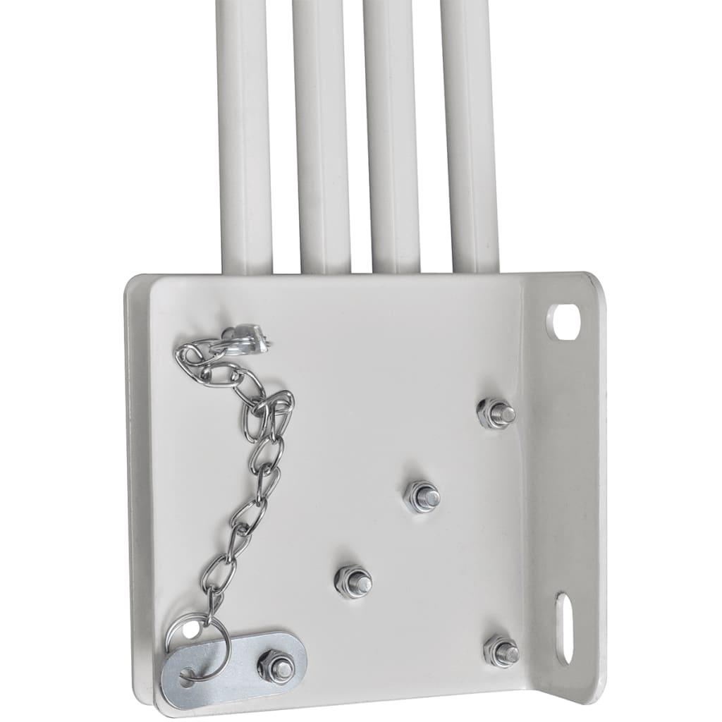 der wandklappschirm markise f r veranda balkon 140 x 140 cm terrakotta online shop. Black Bedroom Furniture Sets. Home Design Ideas