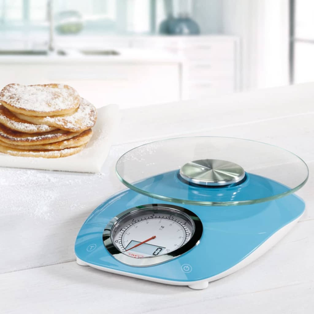 soehnle k chenwaage vintage style 5 kg blau 66230 g nstig kaufen. Black Bedroom Furniture Sets. Home Design Ideas