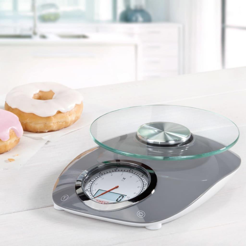 acheter soehnle balance de cuisine vintage style 5 kg gris 66231 pas cher. Black Bedroom Furniture Sets. Home Design Ideas