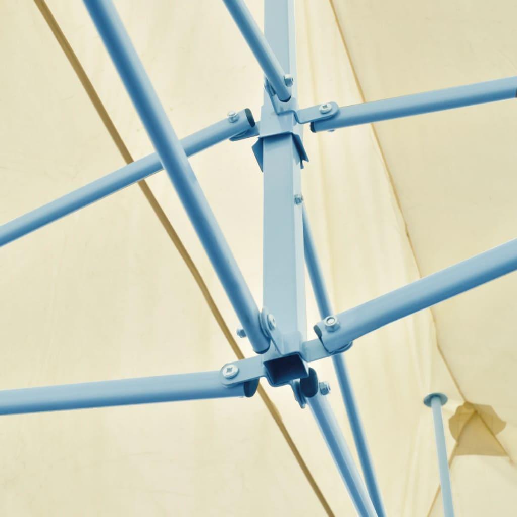 vidaXL-Partytent-Pop-Up-Opvouwbaar-Creme-Party-Tent-Feesttent-Prieel-Paviljoen