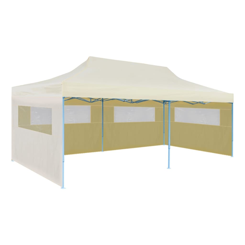 Vidaxl Cream Foldable Pop Up Party Tent 10 X 20 Vidaxl Com