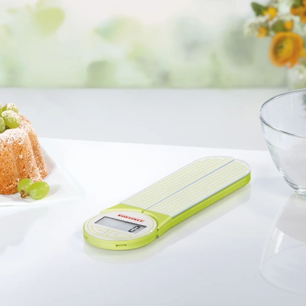 acheter soehnle balance de cuisine genio 5 kg vert 66228 pas cher. Black Bedroom Furniture Sets. Home Design Ideas