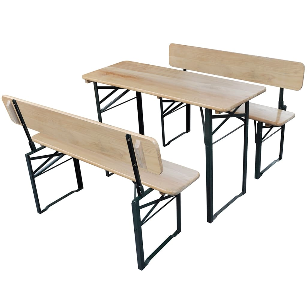 La boutique en ligne table de brasserie pliante et 2 bancs - Table brasserie pliante occasion ...