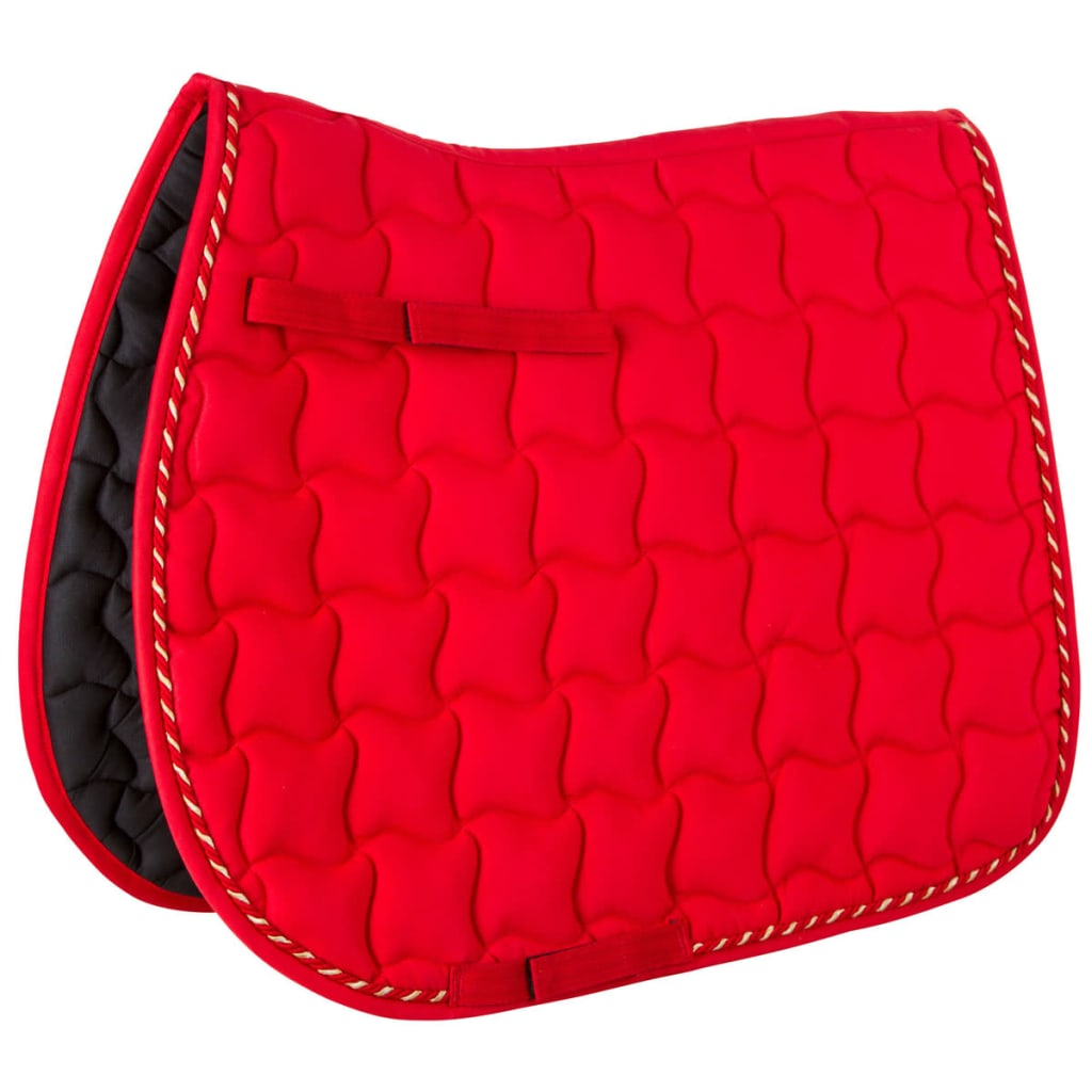 acheter kerbl tapis de selle polyvalent laguna rouge. Black Bedroom Furniture Sets. Home Design Ideas