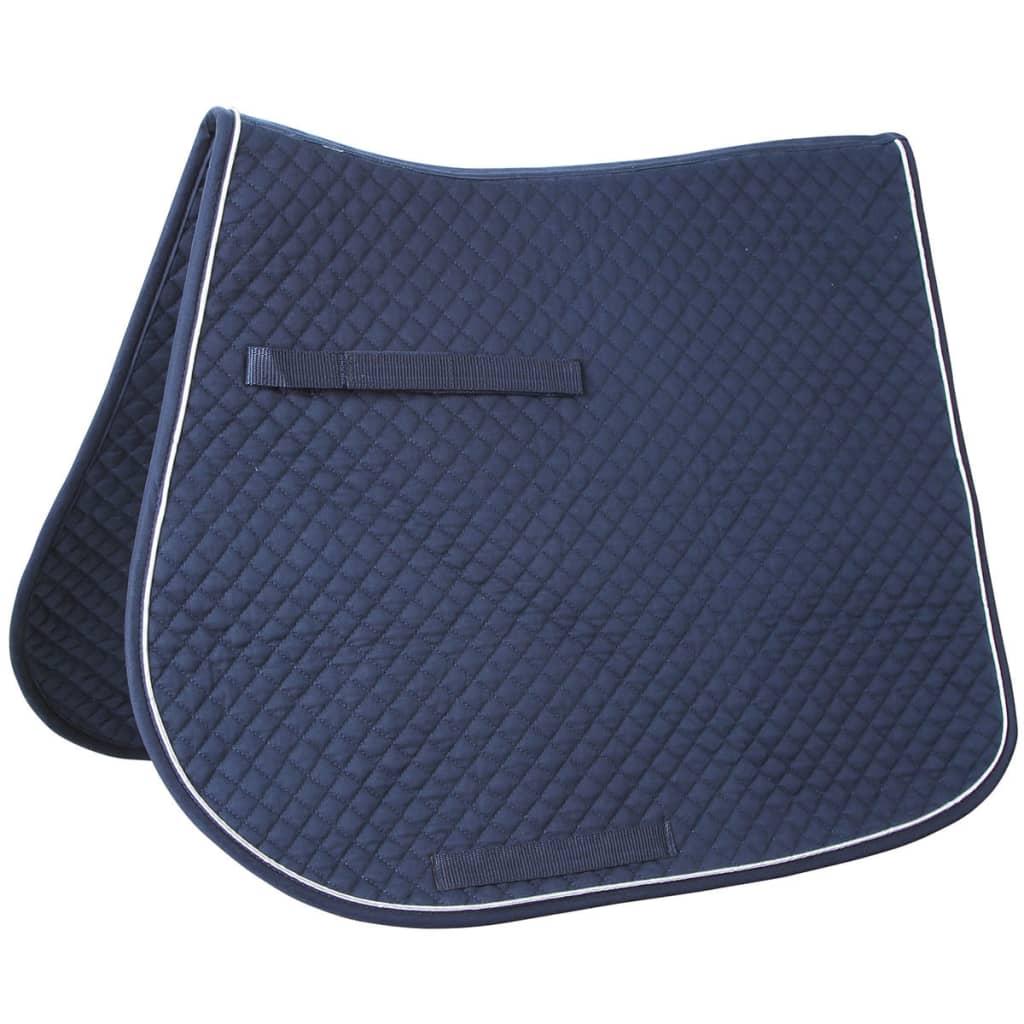 acheter kerbl tapis de selle polyvalent classic bleu. Black Bedroom Furniture Sets. Home Design Ideas