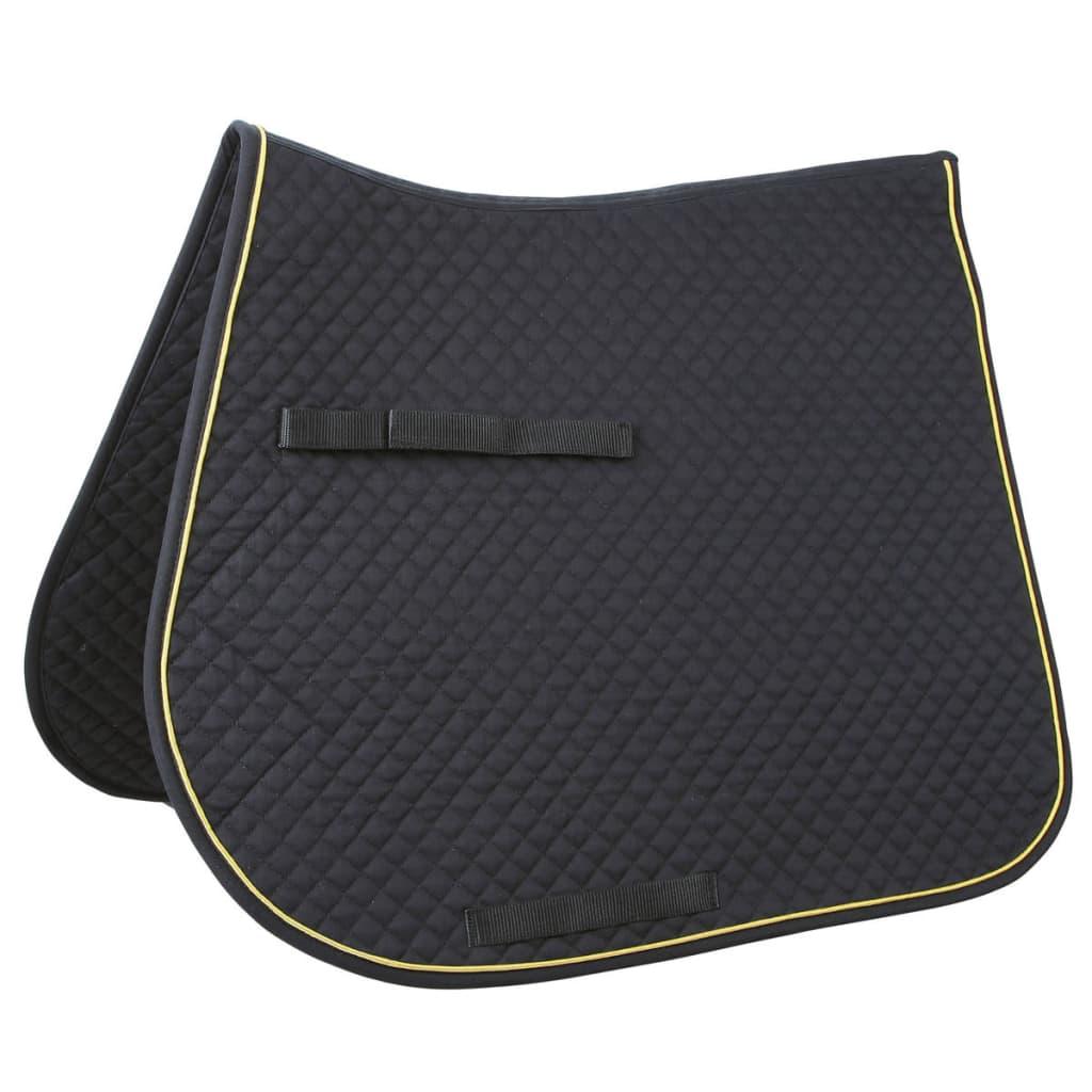 acheter kerbl tapis de selle polyvalent classic noir 323811 pas cher. Black Bedroom Furniture Sets. Home Design Ideas