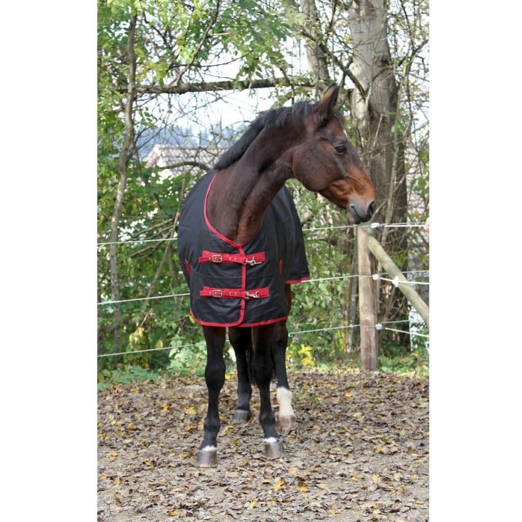 acheter kerbl couverture de cheval rugbe zero 1 noir 85 cm 328660 pas cher. Black Bedroom Furniture Sets. Home Design Ideas