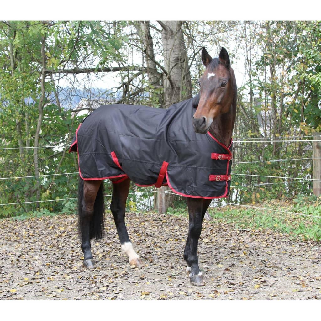 acheter kerbl couverture de cheval rugbe zero 1 noir 95 cm 328661 pas cher. Black Bedroom Furniture Sets. Home Design Ideas