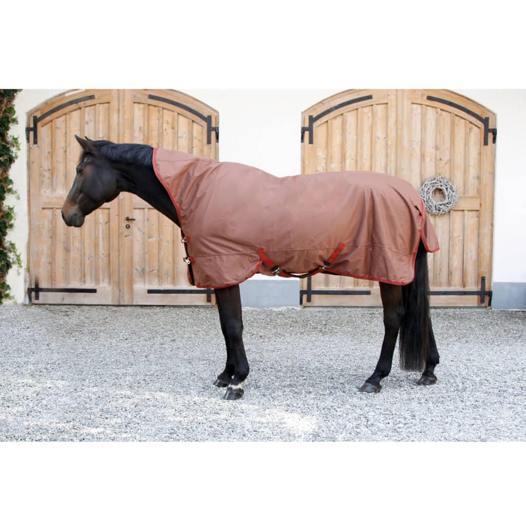 acheter kerbl couverture de cheval rugbe superhighneck marron 125 cm 328668 pas cher. Black Bedroom Furniture Sets. Home Design Ideas